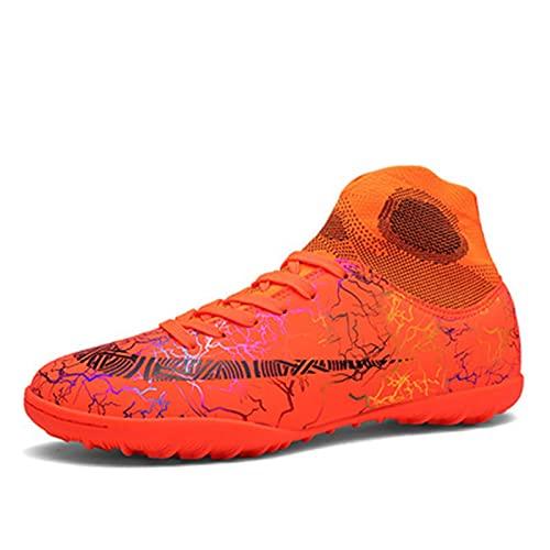 Zapatos de fútbol Botas de fútbol no resbaladas transpirables Botas al aire libre, zapatillas profesionales, zapatos de competencia, botas de fútbol para hombres, niños, fútbol, zapatos de atletismo