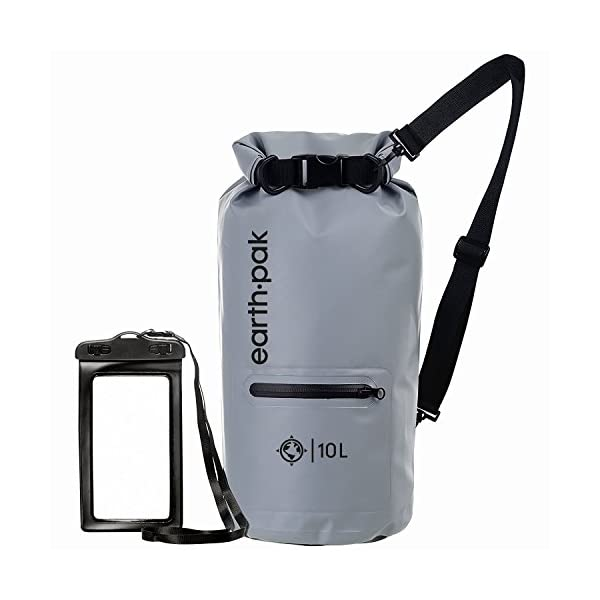 Earth Pak-Torrent Series Waterproof Dry Bag Keeps Gear Dry for Kayaking, Boating, Hiking, Camping and Fishing with…