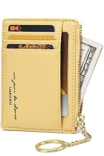 Slim Minimalist Wallets for Men & Women RFID Credit Card Holder Wallet 8...