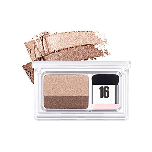 taianle Lidschatten - Frauen 3 Sekunden Make-up Lidschatten Double Layer Farbige Abstufung Lazy Eyeshadow