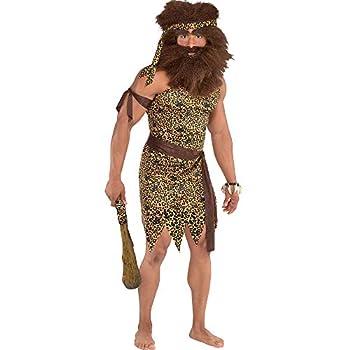 Adult Caveman Tunic Kit- Leopard Print