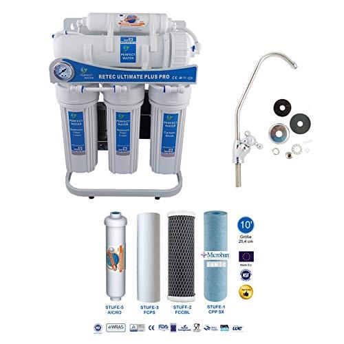 Osmoseanlage 600 GPD Ultimate Plus PRO Basic Edition Mod. 2020 Direct Flow kein Tank nötig Umkehrosmosewasserfilter Wasserfilter Trinkwasser Umkehrosmose Reverse Osmosis