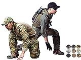 Emersongear AOJQ Gen3 Combat Uniform Mens Duty Camo Airsoft Military Shirt Pants (Multicam Arid, X-Large)