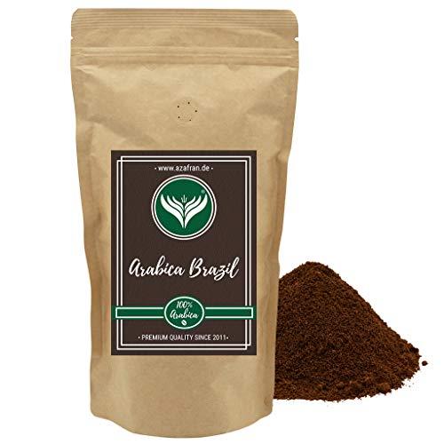 Azafran Kaffeebohnen gemahlen / Kaffee Pulver 100% Arabica aus Brasilien mild 500g