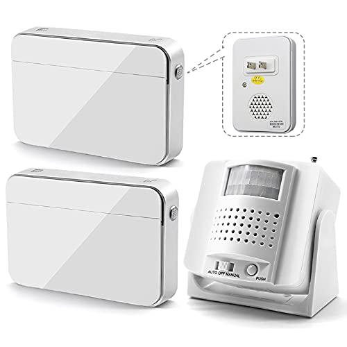 Smart Motion Sensor Alarm Pager Indoor, Elderly...