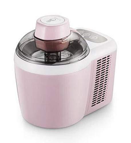 Máquina de hielo 600ml Hogar Máquina automática para hacer helados duros y suaves Sorbete inteligente Máquina para hacer hielo Yogur de frutas Máquina para hacer postres Rosa