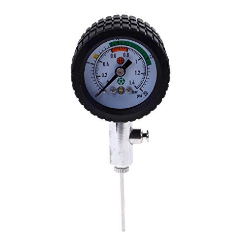 LEIPUPA 1 Peça Portátil Barômetro Medidor De Pressão De Bola/Monitor De Metal Durável