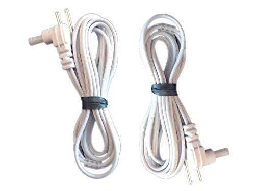 Verbindungskabel (2 Stück) für TENS & EMS Geräte