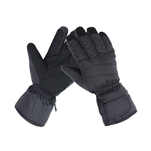 Female Ski Snowboard Gloves Waterproof Cold Weather Glove for Lady Women- Free Balaclava (S)