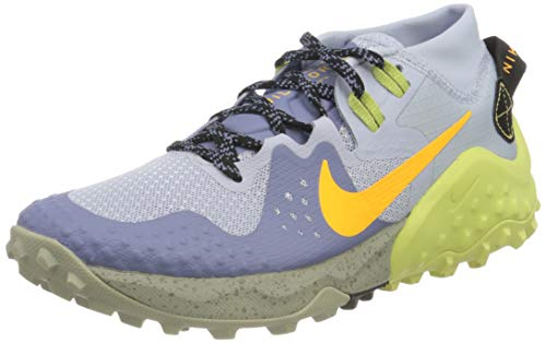 Nike Wildhorse 6, Trail Running Shoe Womens, World Indigo/Laser Orange-Ghost, 40 EU