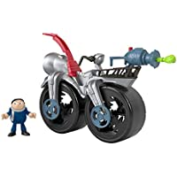 Thomas and Friends Fisher-Price Imaginext Minions Gru's Rocket Bicycle