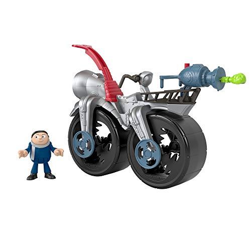 Fisher-Price Imaginext Minions Figura Moto de Gru (Mattel GMP38)