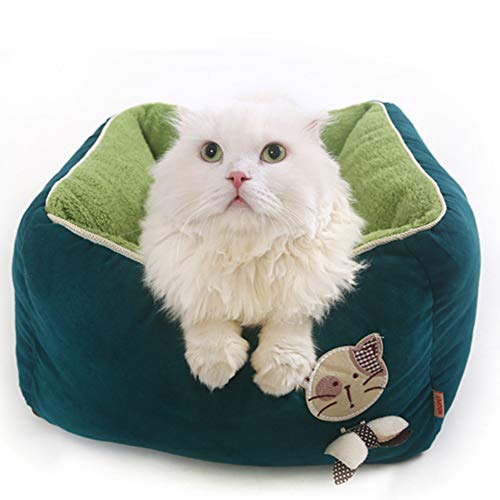 TIANPIN Diepe Slaap Huisdier Nest Kattennest Verwijderbare En Wasbare Teddy Chihuahua Kennel Puppy Slaapzak Kitten Kat Huis Huisdieren benodigdheden