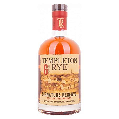 Templeton Rye 6 Years Old Signature Reserve Straigth Rye Whiskey 45,75% 0,70 Liter