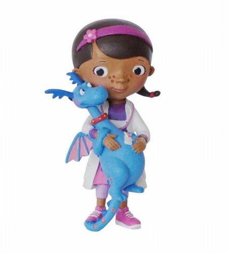 Bullyland - B12902 - Figurine Docteur La Peluche et Toufy - Disney - 7 cm