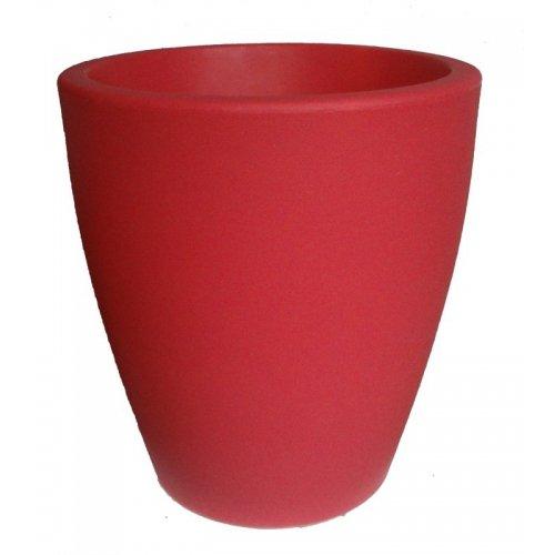 Pot de fleur intérieur & extérieur - Diam. 55cm H. 60cm - Couleur fuchsia