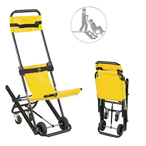 HJJH Treppenlift, Elektro Klettern Rollstuhl, Krankenwagen Feuerwehrmann Evakuierung Medical Aufzug Treppe mit Schnellverschlüssen Geeignet für Behinderte ältere Menschen und Schwangere Frauen