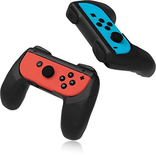 innoGadgets Controller-Halterung [2X] kompatibel mit Nintendo Switch Joy-Con | Grip | Komfortables Gamepad | Aufsätze mit ergonomischem Design und Griff