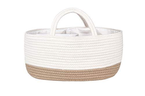Mila Millie Baby Large Cotton Rope Diaper Caddy | Organizer Storage...