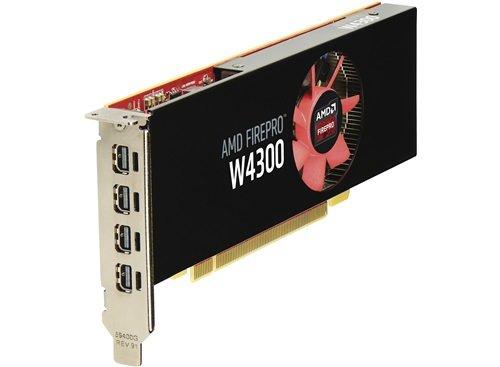 HP AMD FirePro W4300 4GB Graphics GDDR5 - Tarjeta gráfica (FirePro W4300, 4 GB,...