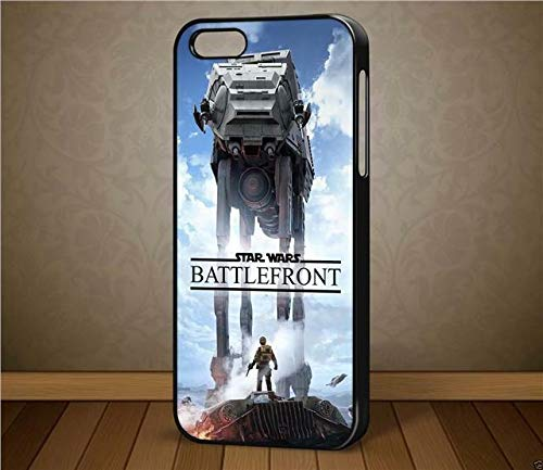 oneoffboutique Star Wars Battlefront Walker Design 2 – per iPhone e Samsung Phone Cases (Black iPhone 6s)
