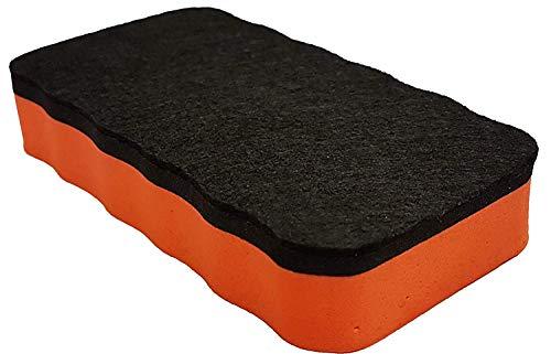 Bi-Office Whiteboardlöscher, magnetisch (Orange, 2 x)