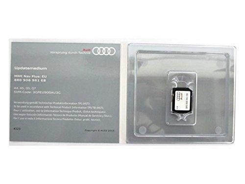 Audi MMI Update Medium Speicherkarte MMI 3G+ 4G NAV Plus: EU, 8R0 906 961 EB