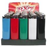 BIC BX7 Feuerzeuge F23 (50 Stück) Reibrad Verkaufsdisplay