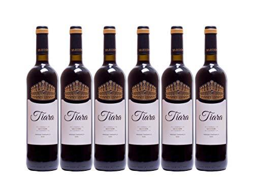 Pack 6 botellas BODEGAS TIARA Vino Tinto Tiara Tempranillo