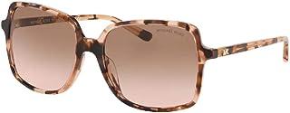 مايكل كورس MK2098U نظارة شمسية مربعة للنساء + مجموعة نظارات مجانية