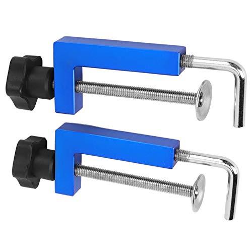 Abrazaderas de valla, abrazadera de función Aleación de aluminio de alta calidad para entusiastas de la carpintería de bricolaje para proyectos de muebles y gabinetes de carpintería de