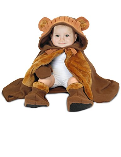 Rubie's-déguisement officiel - Rubie's- Déguisement pour bébé cape, chapeau, gants et chaussons Lion - Taille Unique- 154681