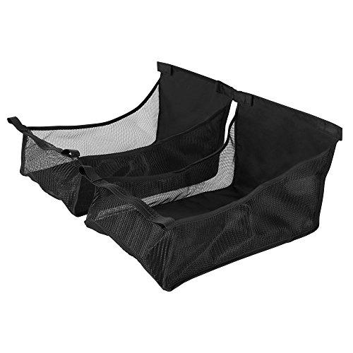 Twin Triumph Shopping Basket - Black