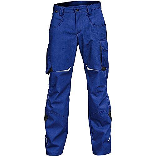 Kübler 24245353-4699-50 Arbeitshose Pulsschlag mit Seitentaschen, kornblumenblau/schwarz, 50