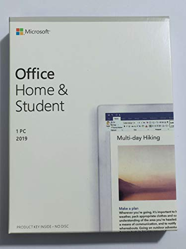 Office Home & Student 2019 Only PC Windows | New | Office 2019 | Original