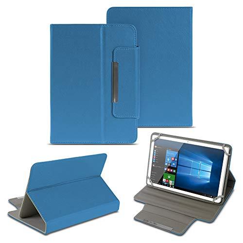 NAUC Universal Tasche Schutz Hülle 10-10.1 Zoll Tablet Schutzhülle Tab Case Cover Bag, Farben:Blau, Tablet Modell für:Odys Score Plus 3G
