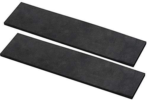 AGT Auto Türkantenschutz: 2er-Set Universal-Schutzleisten, selbstklebend, 40 x 15 x 0,6 cm (Autotür Wandschutz)
