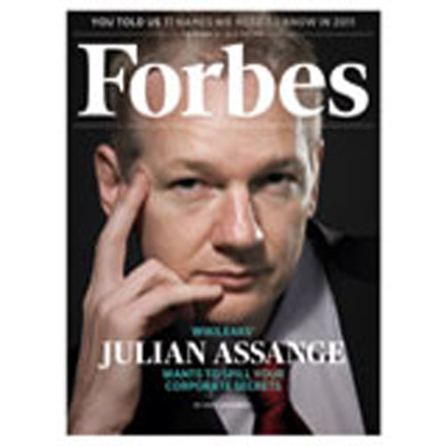 Forbes, December 06, 2010 cover art
