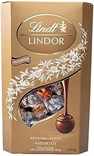 【クール便】リンツ リンドール トリュフ チョコレート アソート 600g (4種 約48個) <ダーク・ヘーゼルナッツ・ミルク・ホワイト>/ Lindt LINDOR ASSORTED CHOCOLATE 600g DARK,WHITE,HA...