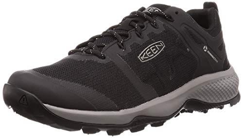 KEEN Explore Vent, Chaussure de randonnée Homme, Noir/Bruine, 47.5 EU