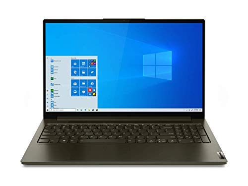 Lenovo Yoga Creator 7 Notebook, Display 15.6' Full HD IPS, Processore Intel Core i7-10750H, 1 TB SSD, RAM 16 GB, Scheda grafica NVIDIA GeForce GTX 1650 4GB GDDR6, Windows 10, Dark Moss