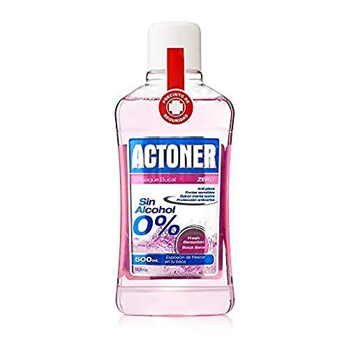 Actoner, Enjuague Bucal Sin Alcohol, Encías Sensibles, 500 ml, 1 unidad