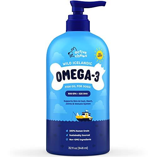 Active Chews Wild Icelandic Omega 3 Fish Oil