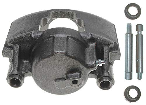 ACDelco 18FR742 Professional Front Driver Side Disc Brake Caliper Assembly without Pads (Friction Ready Non-Coated), Remanufactured