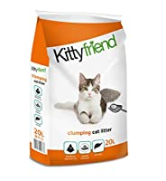 Kitty Friend Clumping is a traditional clumping cat litter. Clumps form to aid easy removal of used litter. This not only saves time and effort but is very economical as only the used litter is removed.