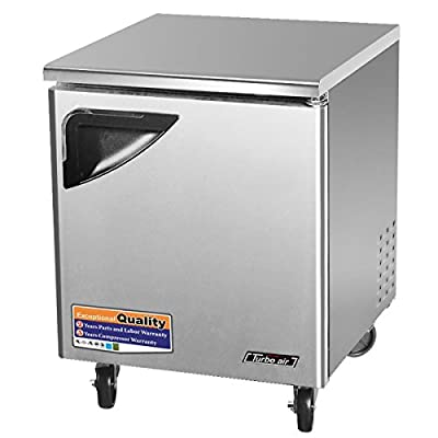 Turbo Air Deluxe Undercounter Freezer TUF-28SD