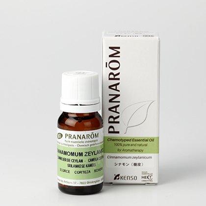 シナモン(樹皮) 10ml プラナロム社エッセンシャルオイル(精油)スパイス系ミドルノート