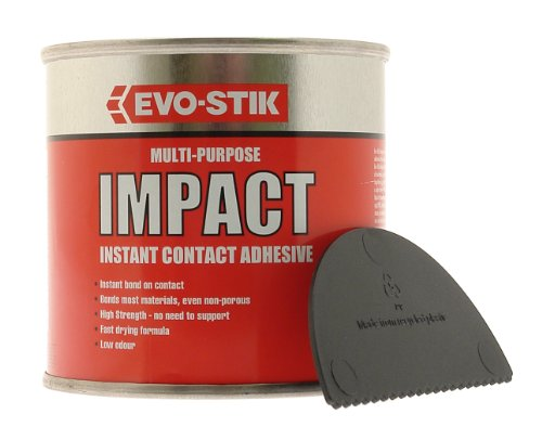 Evo Stik 250ml Impact Multi-Purpose Instant Contact Adhesive in Tin 348103