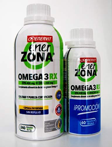 Enerzona Omega 3 Rx 240 Caps + 60 Caps - 400 g