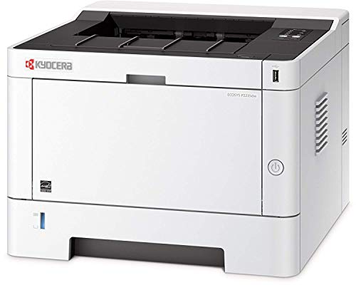 Kyocera Klimaschutz-System Ecosys P2235dw WLAN Laserdrucker: Schwarz-Weiß, Duplex-Einheit, 35 Seiten pro Minute. Inkl. Mobile Print Funktion